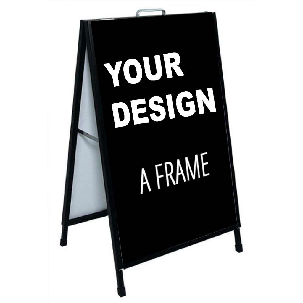 A-frame sign