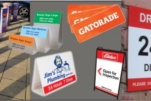 wide format printing & signage